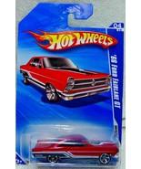Hot Wheels Muscle Mania 2010 '66 Ford Fairlane GT 4/10 Red 82/240 R7507 NIB - $7.49