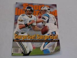 Sports Illustrated Jan 13 1997 Marc Brunell Jacksonville Jaguars Kerry C... - $9.99