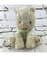 Child Of Mine Teddy Bear Plush Tan Stuffed Animal Soft Crib Toy By Carters - $19.79