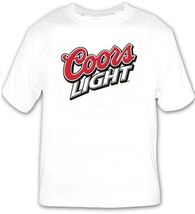 Coors Light Beer Logo Beer T Shirt Choose your Size S M L XL 2XL 3XL 4XL... - $16.99+