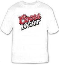 Coors Light Beer Logo Beer T Shirt Choose your Size S M L XL 2XL 3XL 4XL... - $16.99+