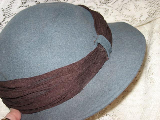 Ladies' 100% Wool Hat - Austelle Fashion -Merrimac Hat Corp - USA- 1950's