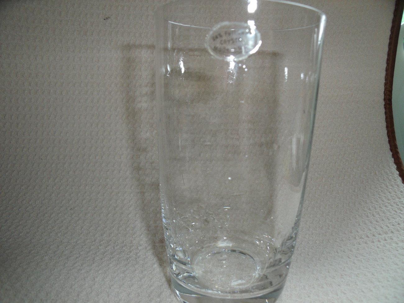 Celebrity Brand Lead Crystal Iced Tea/Highball/Water Glasses NIB (8)
