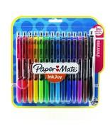 Paper Mate Inkjoy Gel Pen Retractable 0.5mm Assorted Colors Pack 14 - $20.00