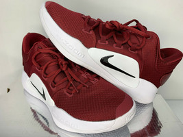 NEW SIZE 7.5 MEN Nike Hyperdunk X Low 2018 MAROON BURGANDY RED Basketbal... - $99.99