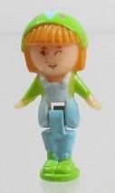 1990 Vintage Polly Pocket Doll Figure Midge in her Necklace - Midge - $7.00