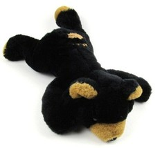 Rocco the Black Bear Wishpets 1997 Bean Bag Plush from Homosassa Park FL - $13.85