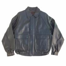 M46479 Colebrook, Vintage, Men's Zip up, Lambskin Leather Short (Bomber) Jacket - $199.00