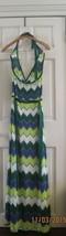 NWT BCBG Max Azria silk and cotton knit halter maxi dress S - $138.60