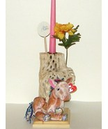 Cholla Cactus Wood Candle Holder Ty Zodiac Hors... - $15.00