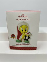Hallmark 2013 Looney Tunes A Puddy For Tweety Bird Christmas Keepsake Or... - $11.87