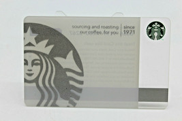 Starbucks Coffee 2010 Gift Card Siren Silver Mermaid Special Ed Zero Bal... - $13.52
