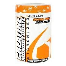 Axis Labs Creatine Monohydrate Micronized Powder 100 Servings - $22.53
