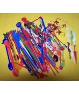 Vintage  Swizzle Sticks - Stir Sticks - Monkey ... - $20.00