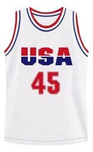 Donald trump  45 team usa custom basketball jersey white   1 thumb200
