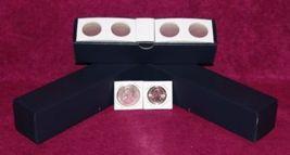 "1½"" x 1½"" Cardboard Quarter Coin Flips w/Blue storage boxes. (100 per box)  - $7.49"