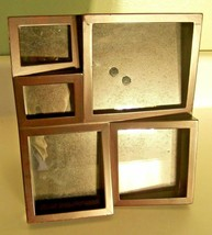 Picture Frame Collage Expresso 5-pictures  8 X 8.5 Home Decor - $9.74