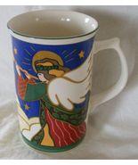 Mikasa Rejoice Christmas angels mug - $9.99