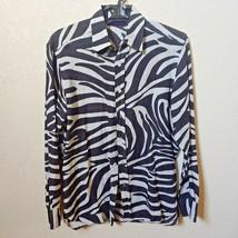 Ralph Lauren | Zebra Print Men's Long sleeve Shirt | Large - $125.00