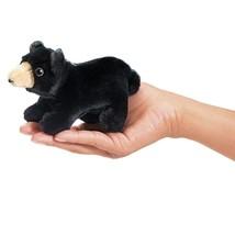 Folkmanis Mini Black Bear Finger Puppet - $10.04