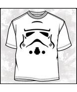 Star Wars Super Trooper Stormtrooper Mask White T-Shirt 2X NEW UNWORN - $18.37