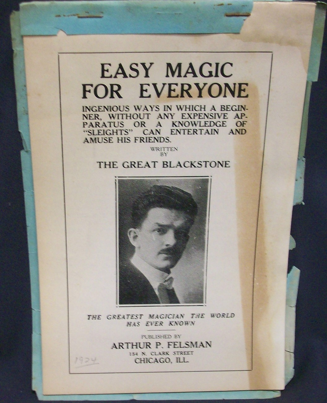Easy Magic for Everyone by The Great Blackstone