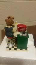 Coke Coca Cola Boyds Bear Kaylie Conner Its The Real Thing Soda (T=30) - $49.50