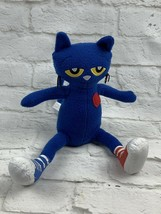"""MerryMakers Pete the Cat Plush Doll 10"""" In Blue Children's Storybook Cha... - $10.99"""