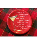 """""""Martini The Green Nosed Cocktail"""" Dish - Great Christmas Novelty Item! - $2.49"""