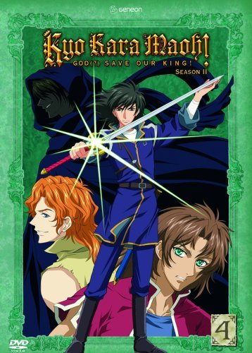 Kyo Kara Maoh! God (?) Season 2: Vol. 04 DVD Brand NEW!