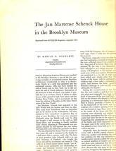 Brooklyn Museum - The Jan Martense Schenck House in the Brooklyn Museum - $2.75