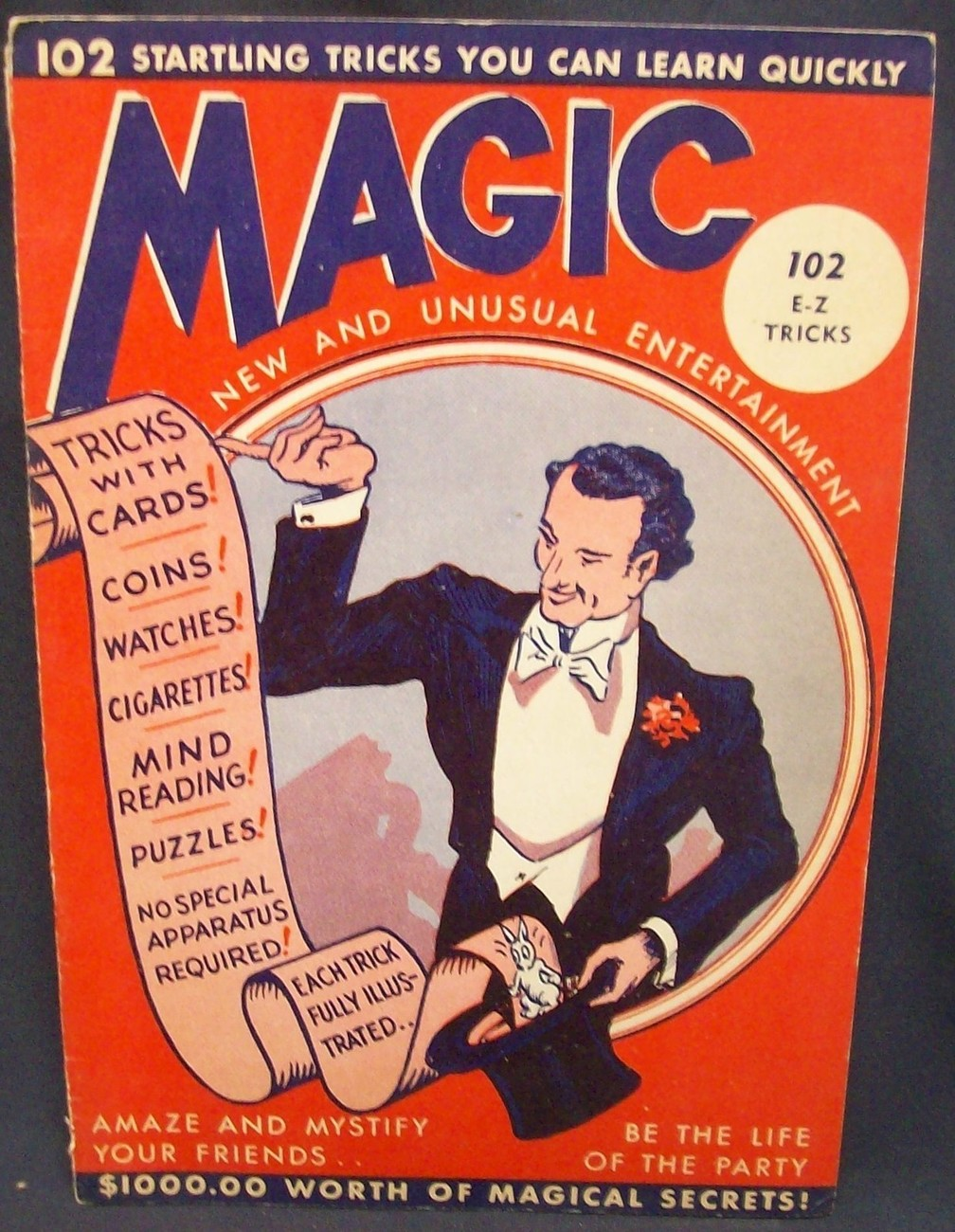 Magic 102 Startling Tricks You Can Lean