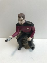 1996 Hallmark  Keepsake Ornament Star Trek The Next Generation Commander... - $9.89