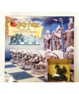 Harry Potter Wizard Chess Set 2002 Mattel Complete Pieces Sealed Box is ... - $43.53
