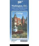 Washington, D. C. Map- Streets and Visitor's Guide (City Map) - $4.95