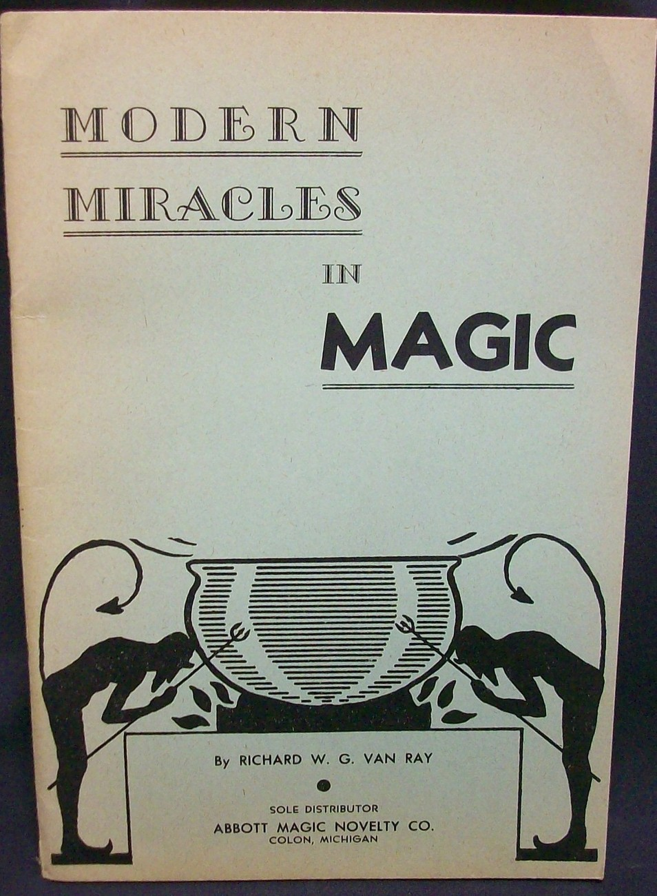 Primary image for Modern Miracles in Magic by Van Ray, Richard
