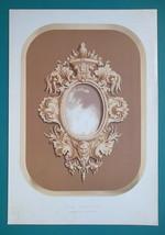 CARVED OAK Ornamental Frame from Argentina - 1876 Philadelphia World Fai... - $22.50