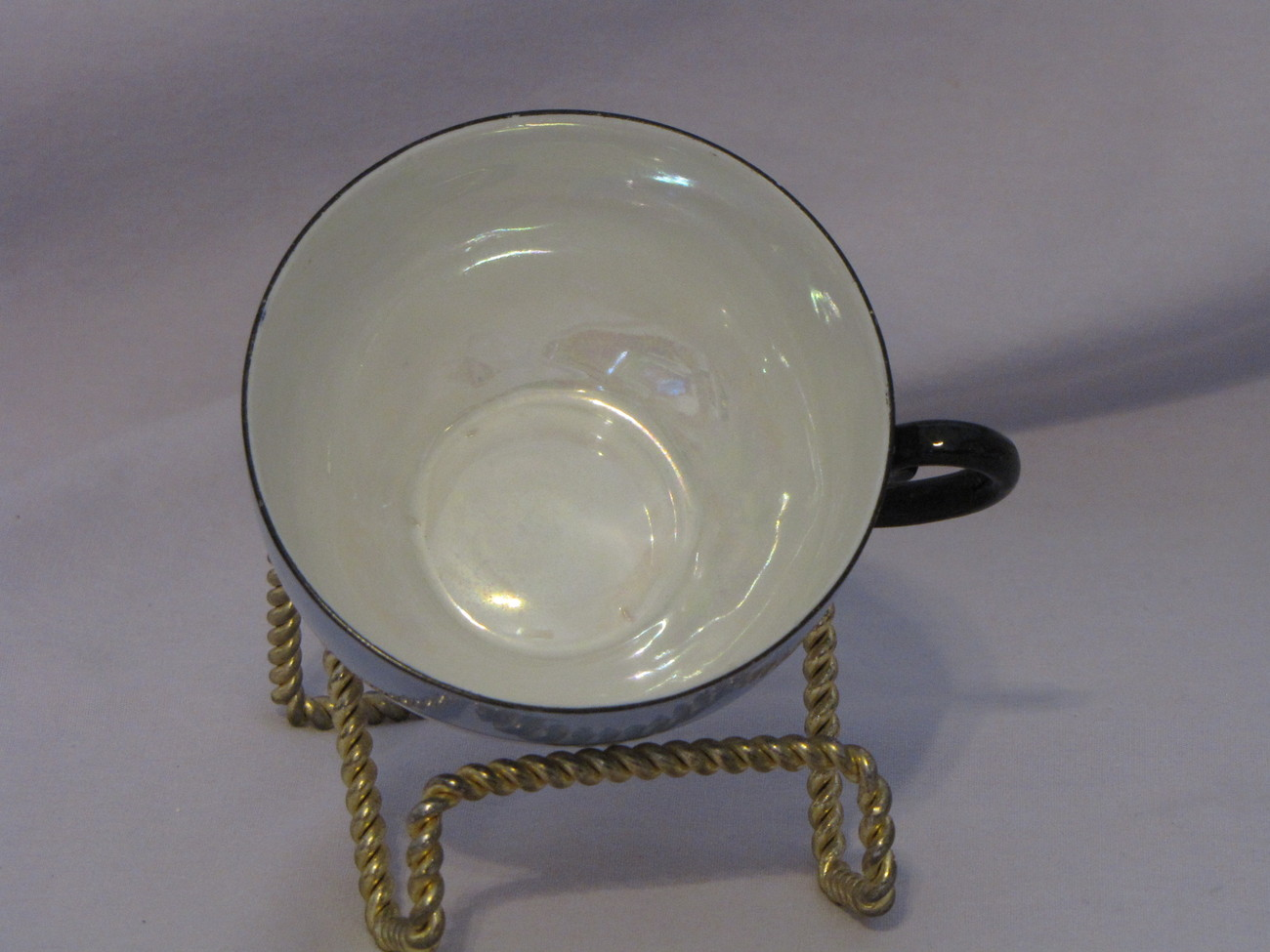 Made in Germany Lusterware Cup and Saucer