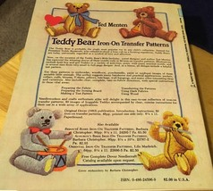 Teddy Bear Iron-On Transfer Patterns by Ted Menten image 2