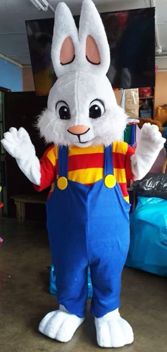 Easter Bunny Mascot Costume Adult Easter Bunny Costume For Sale