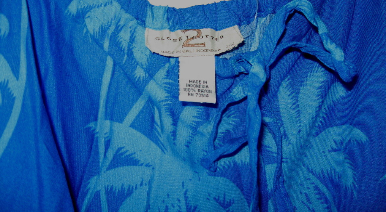 GLOBE TROTTER 2 TROPICAL ISLAND PANTS WITH DRAWSTRING SIZE  2X STUNNING COLORS!
