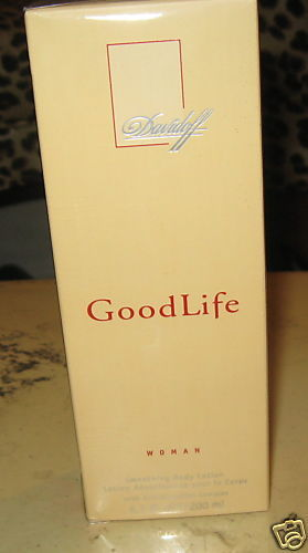 GOOD LIFE WOMAN,DAVIDOFF 6.7ozSMOOTHING BODY LOTION NEW