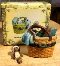 "Boyds Treasure Box ""Sunnie's Boardwalk Basket"" #392135LB-LONGABERGER LE-... - $69.99"