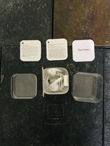 Ipod Shuffle Earbuds and Empty Box Model A1373  - $18.94