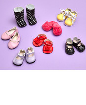 """18"""" Girl Doll Compare to My Life Dolls Set of 7 Shoes - $29.98"""