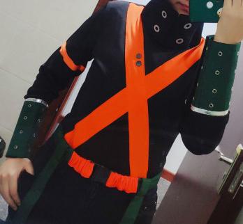 My Hero Academia Katsuki Bakugo Winter Hero Costume Cosplay Buy