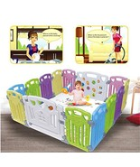 Baby Playpen Kids Activity Centre Safety Play Yard Home Indoor Outdoor N... - $4.174,53 MXN