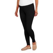 Faded Glory Maternity Capri Leggings, Black, Small - $12.99