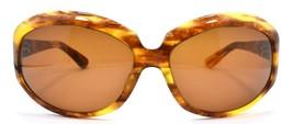 Oliver Peoples La Donna EMT Women's Sunglasses Amber Brown / Brown Lens JAPAN - $77.91