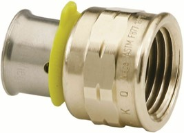 Viega 91590 PEX Press adapter Zero Lead - $45.00